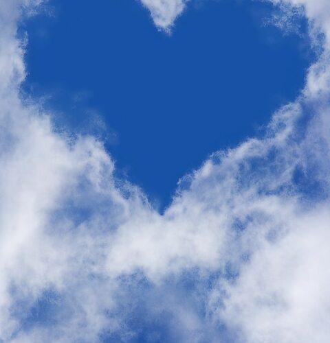 Himmel med hjerte