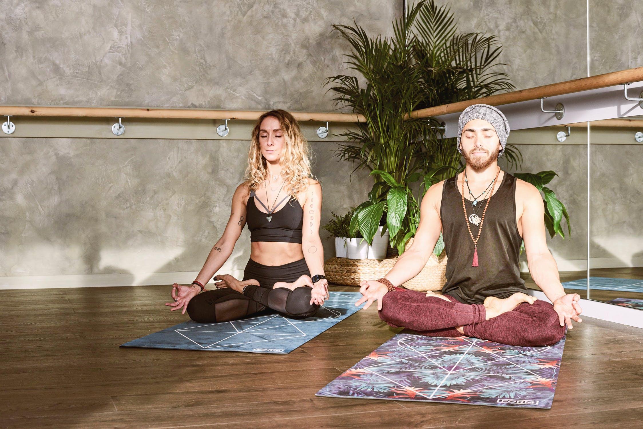 Afslappende yoga