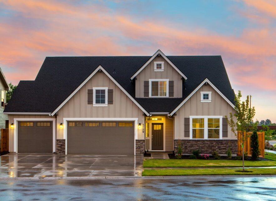 Villa med garage