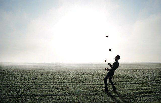 jonglør